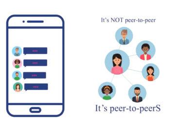It is NOT Peer-to-Peer Student Recruitment, it is Peer-to-PeerS